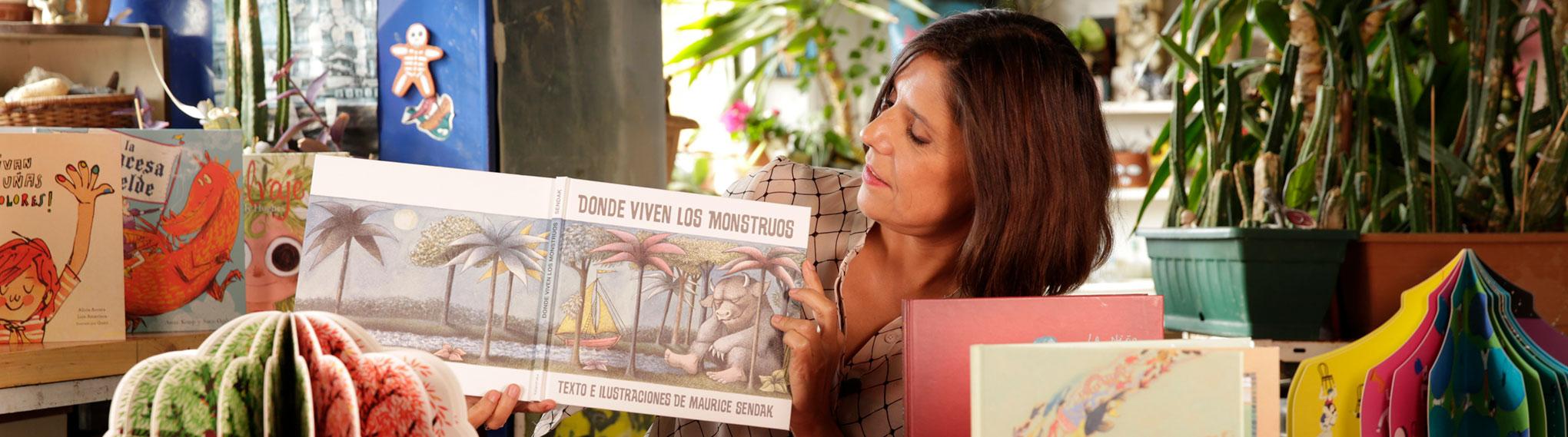 Entrevista a Alejandra Hurtado directora del Programa de Cuentacuentos de la Fundación Mustakis