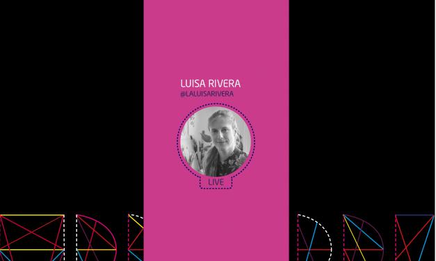 #CONVERSEMOS CON LUISA RIVERA