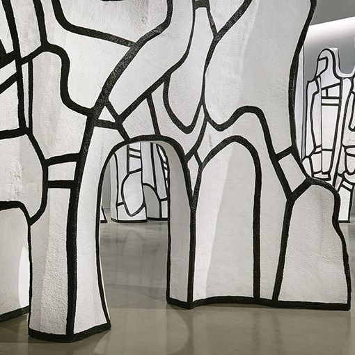 los espacios habitables de Dubuffet