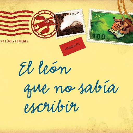 Libro El León que no sabía escribir, Martin Baltscheit, Lóquez Ediciones.
