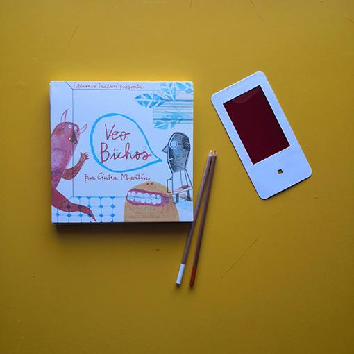 libro objeto - veo bichos