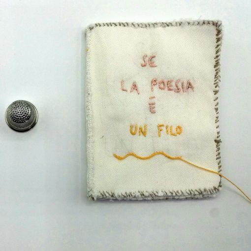 Silvia Vecchini - Poesia e filo