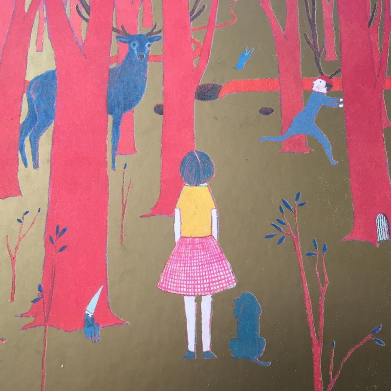 En el bosque - ilustraciones