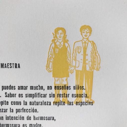Decálogo de la Maestra - Tipo Móvil detalle